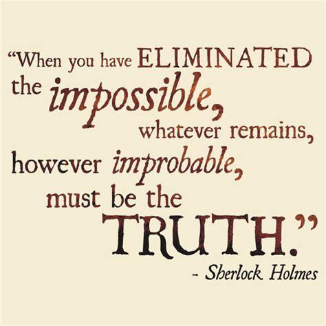 Sherlock Quotes Best Sherlock Quotes Quotesgram