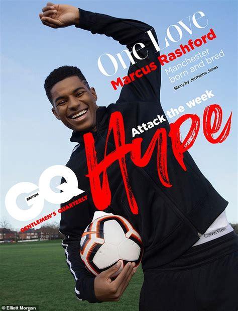 Marcus rashford date of birth: Manchester United's local hero Marcus Rashford gives a ...
