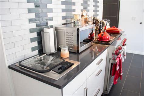 built in fryer built in counter deep fryer contemporary kitchen other by zonavita