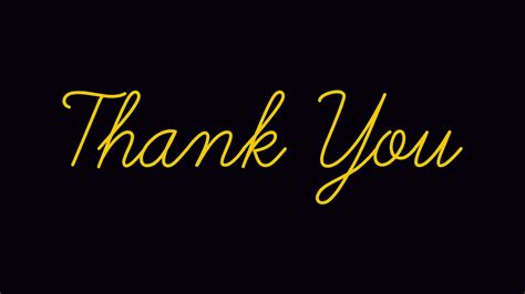 Thank You Wallpaper Animated - thank you handwritten motion graphics flat animation