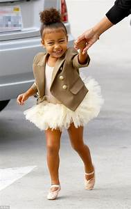 Kim Kardashian's daughter North West wears cute tutu and ...