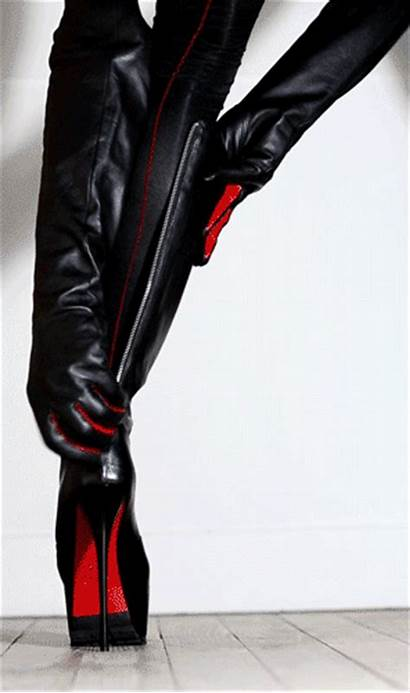 Heels Heel Boots Anime Mistress Shoes Boot