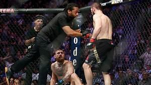 Brawl Follows Win By Khabib Nurmagomedov Win Over Conor