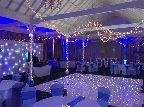 white starlight dance floor hire white led starlit dance