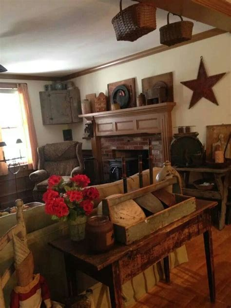 full of antique and rustic home primitive decor