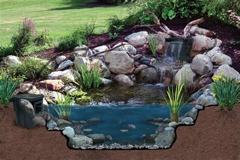 atlantic water gardens oasis pond kit