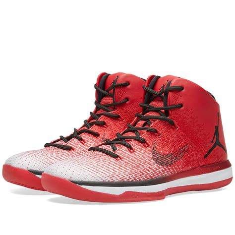 Nike Air Jordan Xxxi Chicago University Red And Black