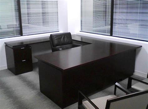 gallery furniture office desk black executive desks office furniture black executive