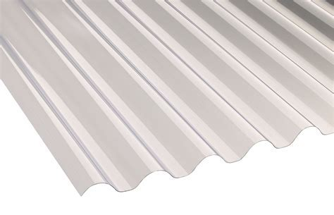 Translucent PVC Roofing Sheet 1.8M x 660mm   Departments