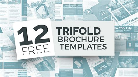 trifold template school empty 12 free tri fold brochure templates for photoshop