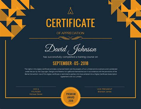 customize  certificate templates customize