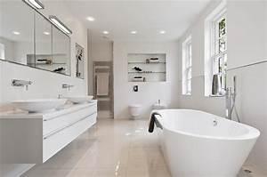 White Bathroom in Modern Style | Decorate Idea
