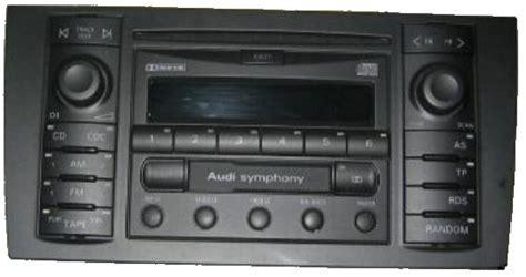 Audisymphony1  A3 Symphony Ausbauen  Car Audio Einbau