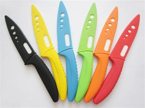 colorful kitchen knives 1pcs 5 quot 5inch high quality ceramic knife white blade