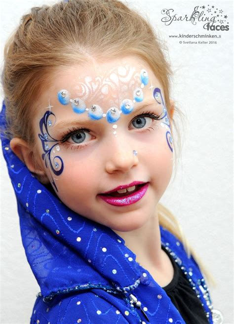 kinderschminken vorlagen die 25 besten ideen zu kinderschminken prinzessin auf kinderschminken einfach