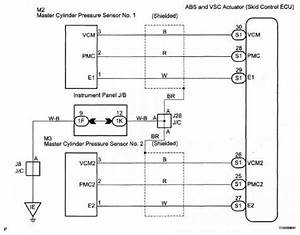 Replace Four Wheel Drive Control Ecu Dtc C Malfunction In Comparative Master Cylinder Pressure