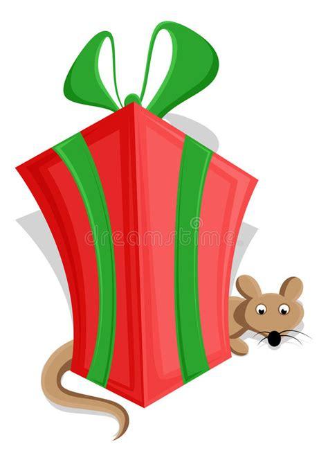 cute christmas gift box vector stock vector illustration