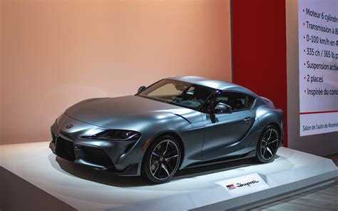 Toyota Supra 2020 Price Usa by The 2020 Toyota Supra Unveiled In Montreal The Car Guide
