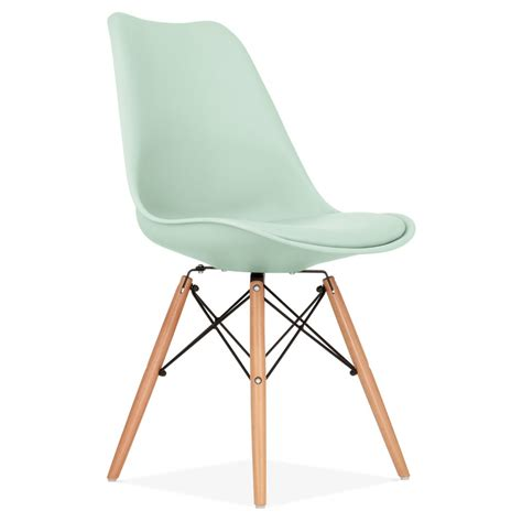 chaises accoudoirs mint dining chair with dsw style wooden legs