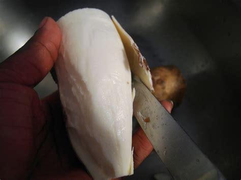 cuisiner les gesiers recettes du cameroun le manioc bouilli