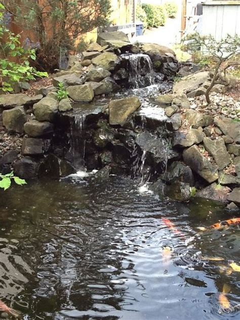 fish ponds with waterfalls 17 best images about fountain pond on pinterest