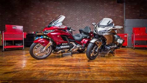 2018 Honda Gold Wing Tour Airbag Automatic Dct Review
