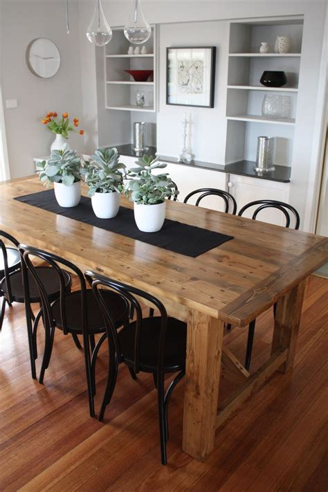 Best 25+ Rustic Dining Tables Ideas On Pinterest Rustic