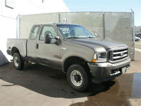 sell   ford   super duty xl ext cab
