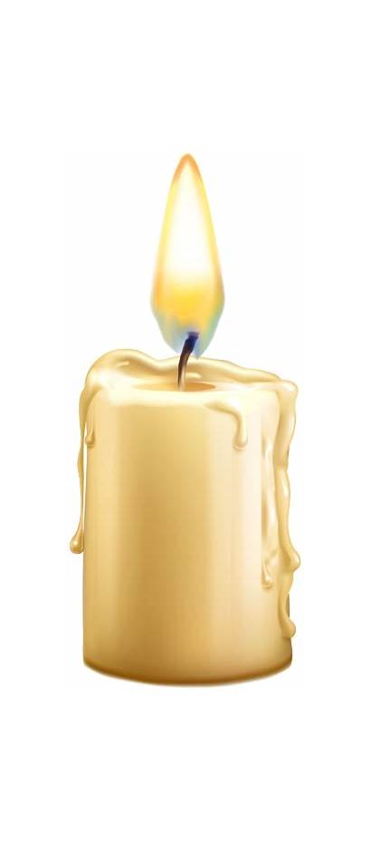 Candle Transparent Lighted Clipart Lit Halloween Yopriceville