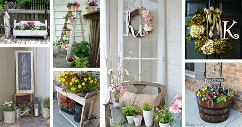 30 Best Rustic Spring Porch Decor Ideas And Designs For 2019