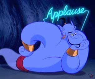 genie in a l vs and the enchanted l disneyfied or disney tried