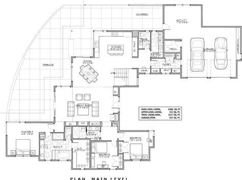 contemporary homes floor plans luxury contemporary 9044 3 bedrooms and 3 baths the