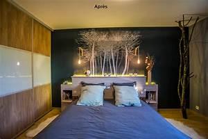 """Décoration d'une chambre """"forêt scandinave""""Décorescence"""
