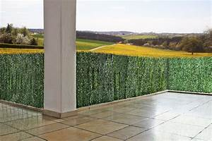 sichtschutz windschutz verkleidung fur balkon terrasse With garten planen mit balkon sichtschutz 100 cm