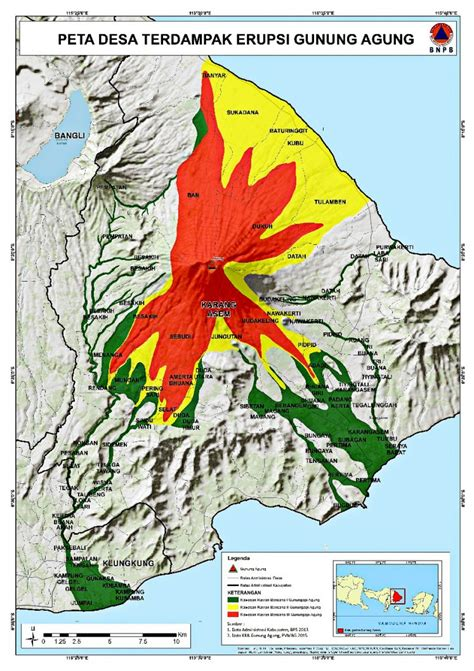 mount agung activity   rise agency national