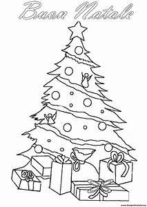 Disegni Albero di Natale Disegni Albero di Natale da colorare