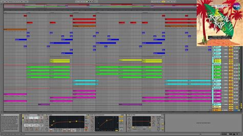 ableton trap templates tropical trap ableton template