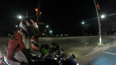 Gopro Hero3+ Black Edition Toronto Motorcycle Night Ride