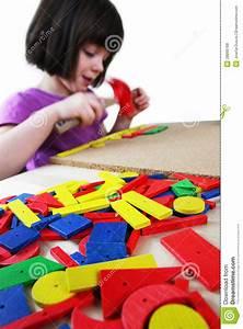 Montessori Puzzle. Preschool. Royalty Free Stock Photos ...