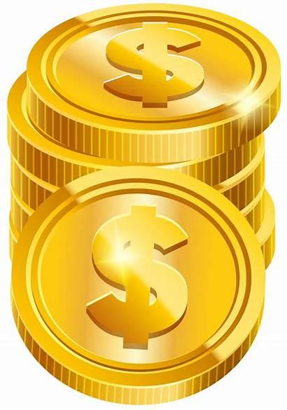 Transparent Coins Coin Money Clipart Clip Dollar