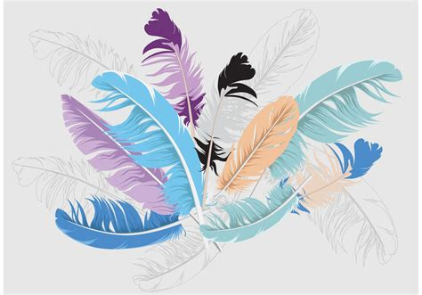feather background feather isolated vector background free vector