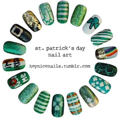st patricks day nail designs nail the monday manicure