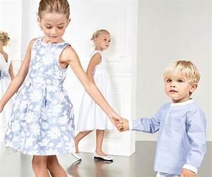 Vetement Ceremonie Garcon Zara : robe jacquard de c r monie jacadi bleu ciel fleurs blanches pour petite fille chemise de ~ Melissatoandfro.com Idées de Décoration