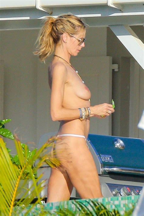 Heidi Klum Topless 42 Photos Thefappening