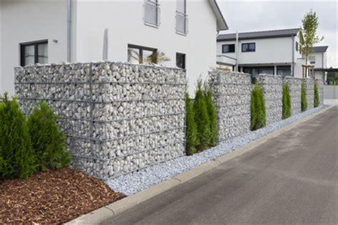 Gartengestaltung Mit Gabionen by Gabionen Sichtschutz Gardomat