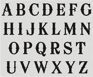 fancy alphabet stencils graffiti art collection With stencil alphabet letters