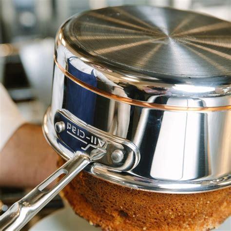 clad copper core  piece cookware set williams sonoma au