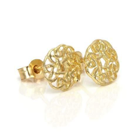 9ct Gold 7mm Round Celtic Knot Stud Earrings  Irish. Oak Rings. Jacque Engagement Rings. Engagement Rings. Mens White Gold Band. Low Key Engagement Rings. Vvs Diamond Necklace. Handmade Beads. Concert Bracelet
