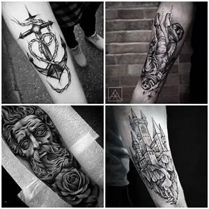 Tattoos Männer Unterarm : die besten 25 graues tattoo ideen auf pinterest blumen arm tattoo geometrisches rosen tattoo ~ Frokenaadalensverden.com Haus und Dekorationen