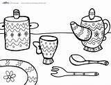 Tea Coloring Printable Printables Coolest Birthday Shower Decorations sketch template